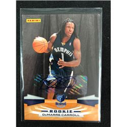 2009-10 Panini #327 DeMarre Carroll Memphis Grizzlies Rookie Basketball Card