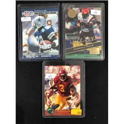 FOOTBALL ROOKIE CARD LOT (SMITH/ FAULK/ JOHNSON)