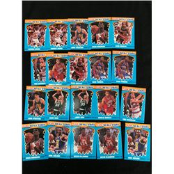 1990 FLEER BASKETBALL ALL-STARS CARD LOT