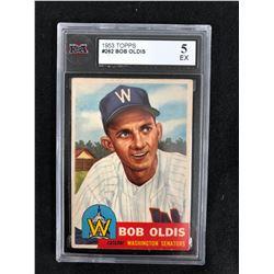 1953 TOPPS #262 BOB OLDIS (5 EX)