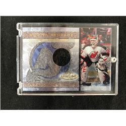 2000-2001 Topps Gold Label Game Worn Jerseys Martin Brodeur #GLJMB Hockey Card