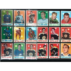 1970-71 O-PEE-CHEE HOCKEY CARD LOT