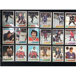 1977-78 O-Pee-Chee Hockey Card Lot