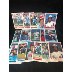 MONTREAL EXPOS/ TORONTO BLUE JAYS O-PEE-CHEE POSTER INSERTS