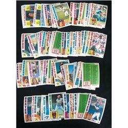 1984 TOPPS ALL-STAR BASEBALL CARD LOT