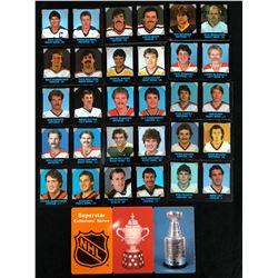 1985-86 7-Eleven NHL Hockey Card Lot