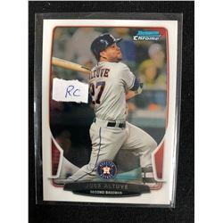 2013 Bowman Chrome #194 Jose Altuve Houston Astros Rookie Baseball Card