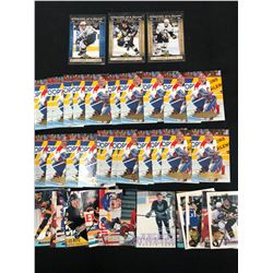HOCKEY TRADING CARDS LOT (VARIOUS YEARS)