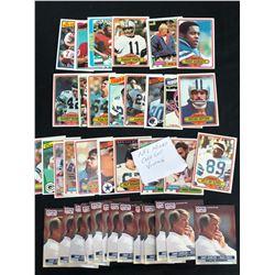 VINTAGE NFL FOOTBALL CARD LOT (VARIOUS YEARS)
