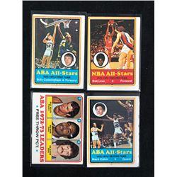 1970'S BASKETBALL CARD LOT