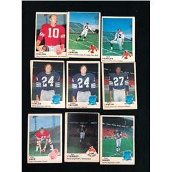 1970 O-PEE-CHEE CFL FOOTBALL CARD LOT