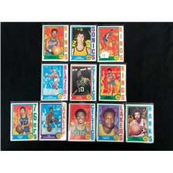 1974-75 TOPPS BASKETBALL CARD LOT