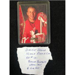 UPPER DECK PREMIER PROSPECTS #181 JEROME IGINLA DIE-CUT ROOKIE CARD