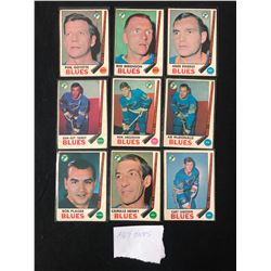 1969 TOPPS HOCKEY CARD LOT