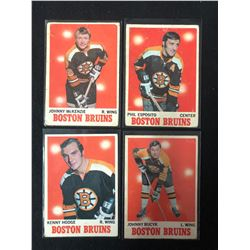 1970-71 O-PEE-CHEE HOCKEY CARD LOT (ESPOSITO/ BUCYK...)