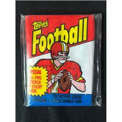 TOPPS FOOTBALL WAX PACK