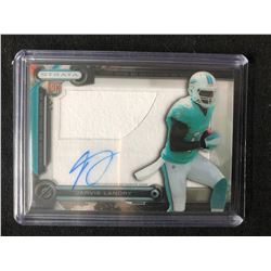 2014 Topps Strata Jarvis Landry RC Patch Auto Football Card