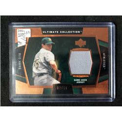 2003 Upper Deck Ultimate Collection Jersey #J-BZ2 Barry Zito Baseball Card