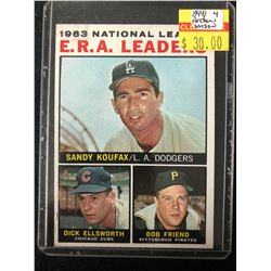 1964 Topps #1 National League E.R.A. Leaders