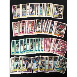 1984-85 TOPPS HOCKEY CARD LOT