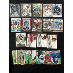 FOOTBALL TRADING CARDS LOT