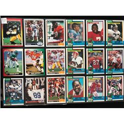 FOOTBALL ROOKIES TRADING CARD LOT
