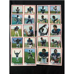 1980 Bells Bufallo Bills Football Card Lot