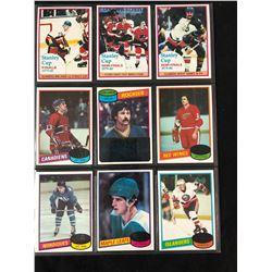 1970-80'S HOCKEY CARDS LOT