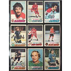1977-78 O-PEE-CHEE HOCKEY CARD LOT