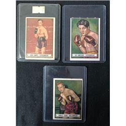 VINTAGE RINGSIDE BOXING CARD LOT