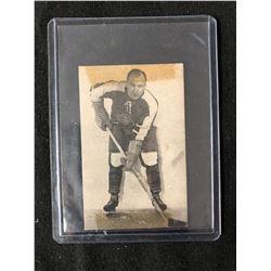 1952-53 ST. LAWRENCE SALES QSHL HOCKEY CARD #2 GLENN HARMON