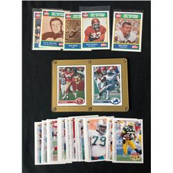 FOOTBALL TRADING CARDS LOT (VARIOUS YEARS)