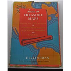 Coffman: (Signed) Atlas of Treasure Maps inscribed by FL Coffman