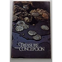 Peterson: (Signed) Treasure of the Concepcion signed by Burt Webber