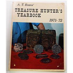 Evans: A.T. Evans' Treasure Hunters' Yearbook 1971-1972 Edition