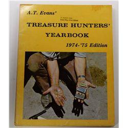 Evans: A.T. Evans' Treasure Hunters' Yearbook 1974-1975 Edition