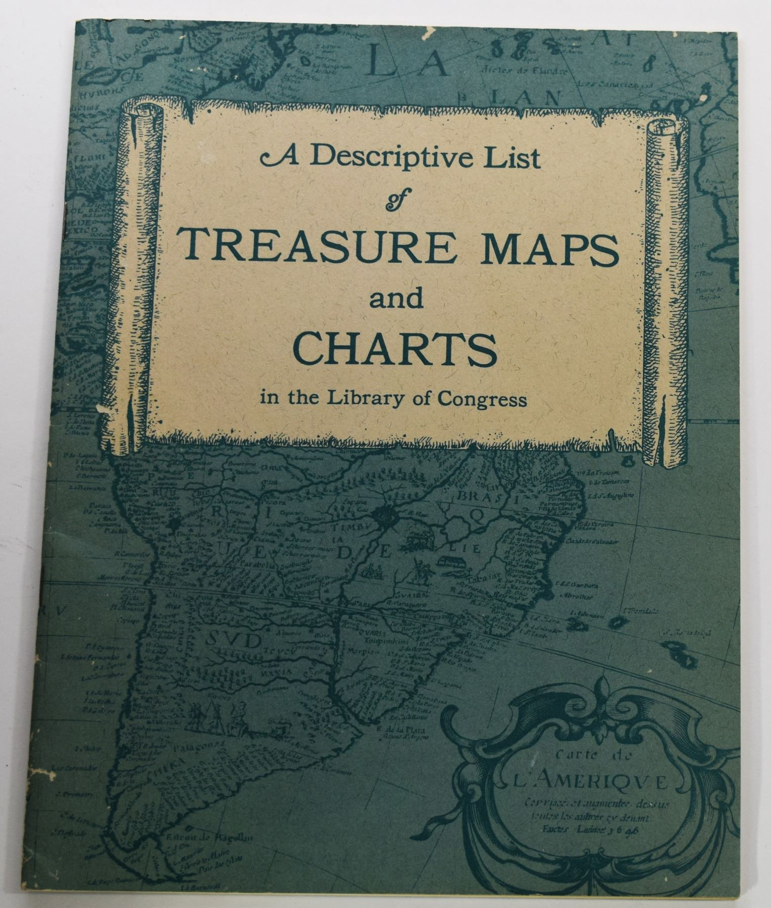 Ladd: A Descriptive List of Treasure Maps and Charts in the Library of  Congress