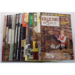 John Latham's Collector's World Magazine 1970 through 1975