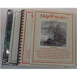 """Shipwrecks """"The Magazine"""" Journal Volume 1 Issues"""