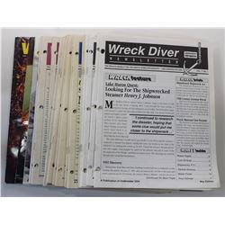 Wreck Diver Newsletter Volume 1 through Volume 3 Issues