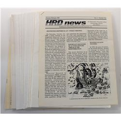 HRD News 1989 through 1994 Issues