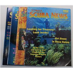 Florida Scuba News and Sea Classics Magazines Issues
