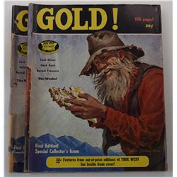 Gold! Magazine Complete 1969 through 1977 Issues