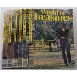 International Club Digest's World of Treasures Magazine 1982 through 1983 Issues
