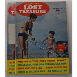 Long John Latham's Lost Treasure Magazine Near Complete Series 1975 through 1979