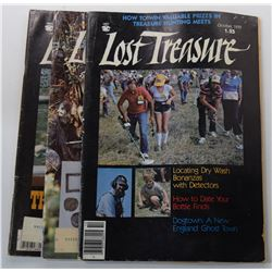 Lost Treasure Magazine 1979 through 1980 Issues