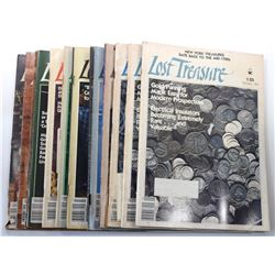 Lost Treasure Magazine 1981 Issues