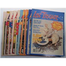Lost Treasure Magazine 1984 Issues