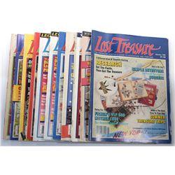 Lost Treasure Magazine 1985 Issues