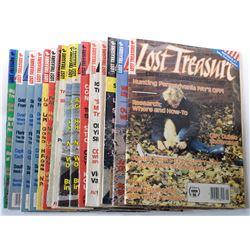 Lost Treasure Magazine 1989 Issues